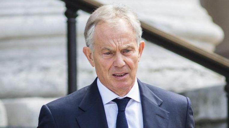 Voormalig Brits premier Tony Blair. Beeld afp