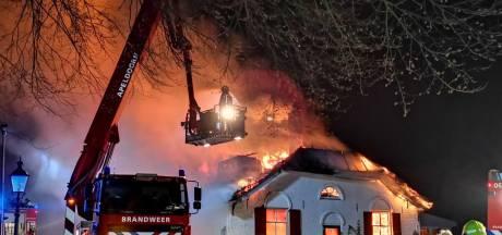 Grote brand in woning op Nationaal Park De Hoge Veluwe