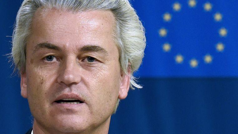 PVV-leider Geert Wilders. Beeld AFP