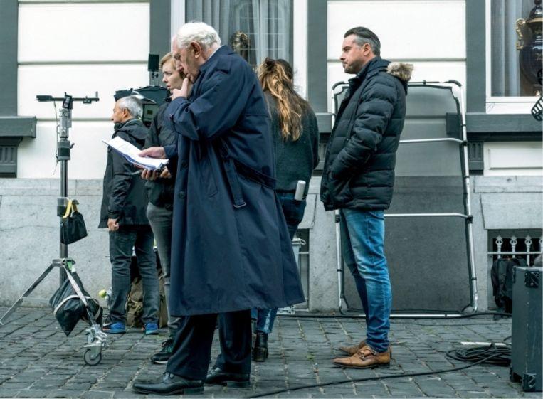 'Jan Decleir, die petjen speelt in 'Niet schieten', voerde urenlange gesprekken met David om de persoonlijkheid van zijn grootvader te doorgronden' Beeld