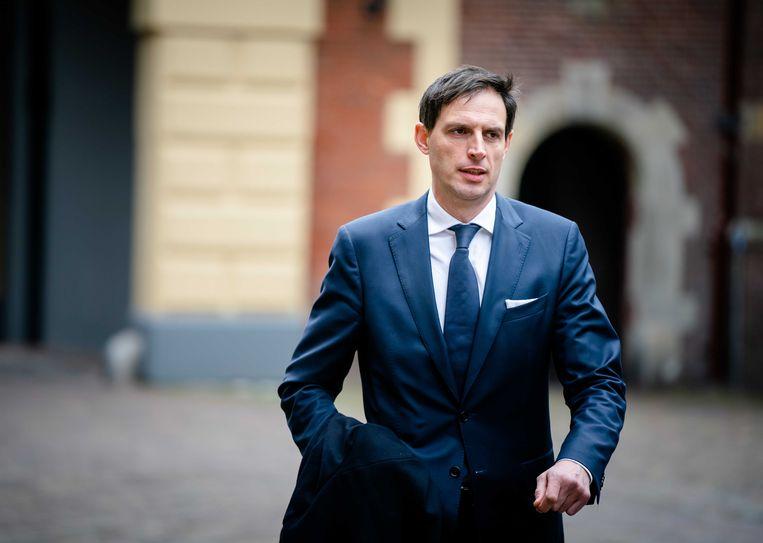 Minister van Financiën Wopke Hoekstra.