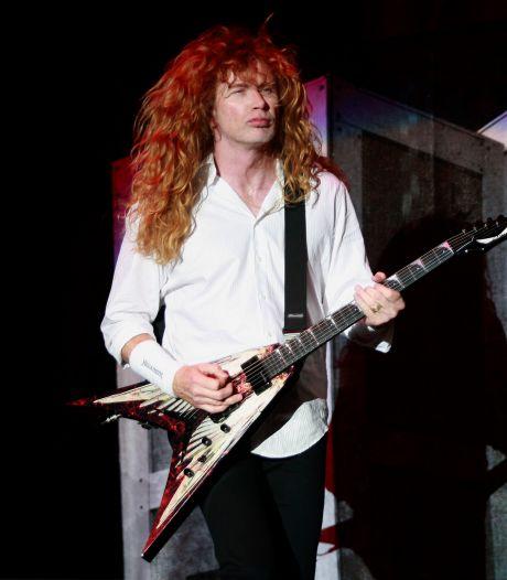 Megadeth-voorman Dave Mustaine heeft keelkanker