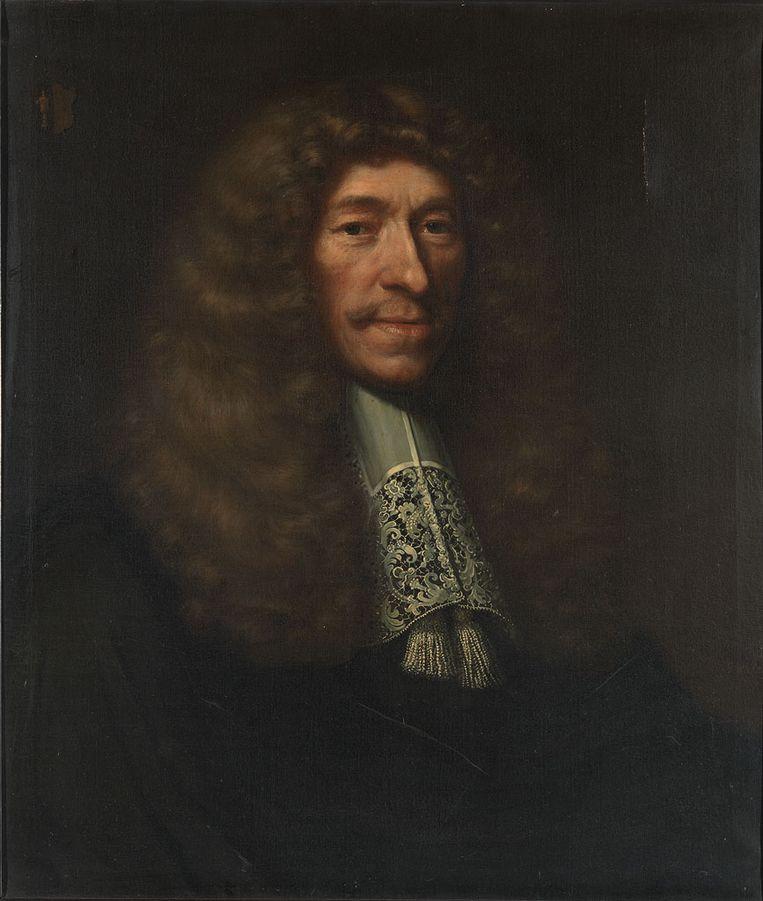Paulus Godin, portret uit 1674. Beeld RKD – Nederlands Instituut voor Kunstgeschiedenis