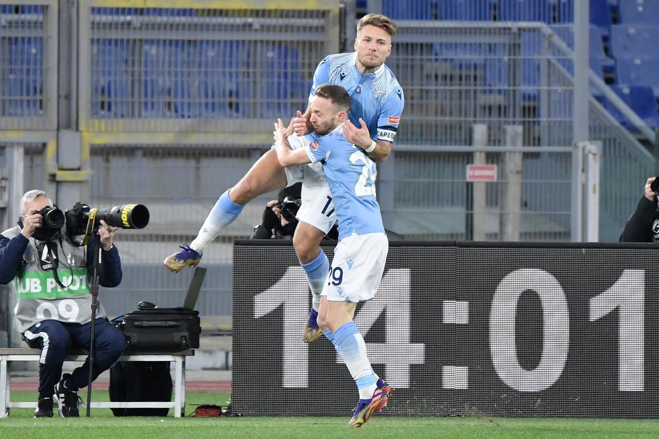 Ciro Immobile avait montré la voie, la Lazio n'a fait qu'une bouchée de la Roma.