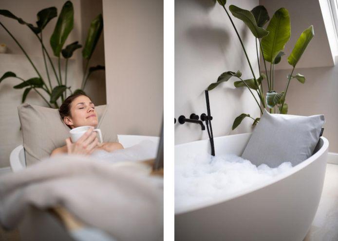 Het Badesofa badkussen
