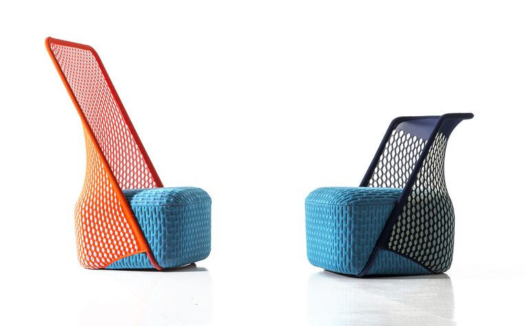 Benjamin Hubert's  'Cradle'-fauteuil. Beeld .