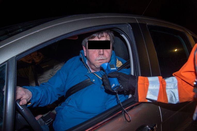 Illustratiebeeld: BOB controle zondagavond in de politiezone Wetteren Laarne en Wichelen (PZWLW)