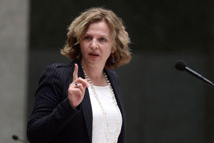 Vertrekkend minister van Volksgezondheid Edith Schippers (foto) maakt op de valreep nog een deal over vergoeding Orkambi.