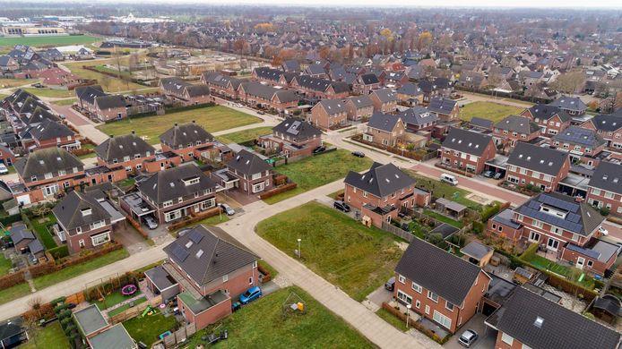 De nieuwste woonwijk in Staphorst gaat nieuwe fase in: 114 woningen erbij. IJhorst krijgt er nog eens (maximaal) 39. (Archieffoto)