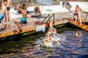 Brugge zwemmen in de coupure