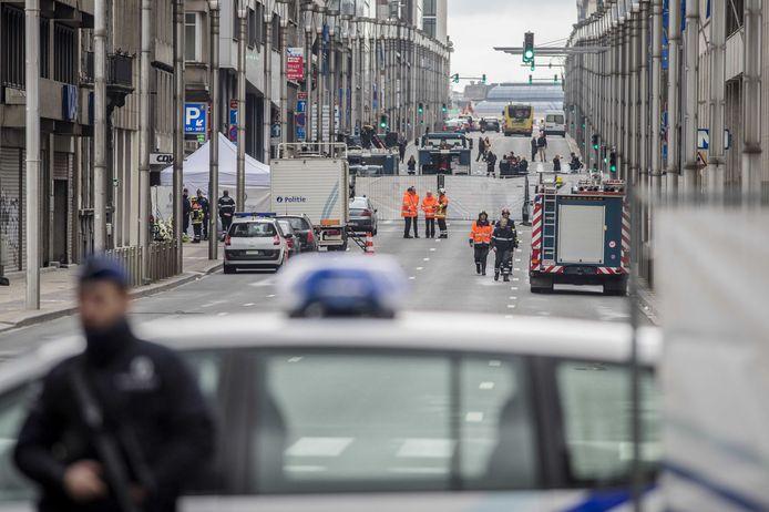 De Wetstraat is weer vrijgemaakt voor alle verkeer.
