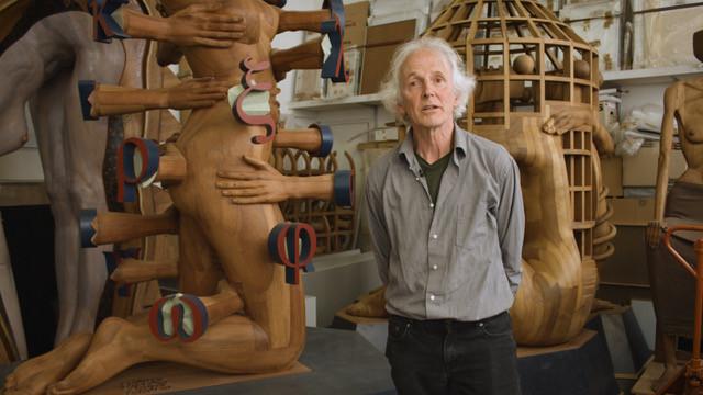 Gerhard Lentink geeft een inkijkje in zijn atelier in Dordrecht.
