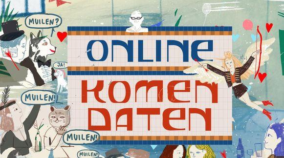 'Online komen daten' van Lizzie van Tram 3.