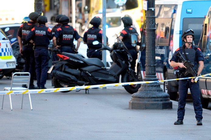 Op 17 augustus 2017 reed een van de leden van de terreurcel enkele honderden meters met een bestelwagen over de Ramblas in Barcelona.
