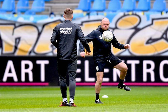 Joseph Oosting voorafgaand aan Vitesse - Willem II