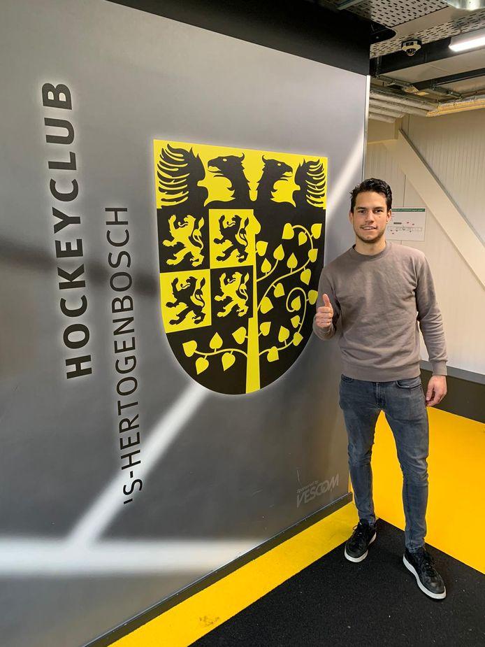 Jaïr van der Horst (23) komt vanaf komend seizoen de aanval van HC Den Bosch versterken. Hij komt over van de buren van HC Tilburg.