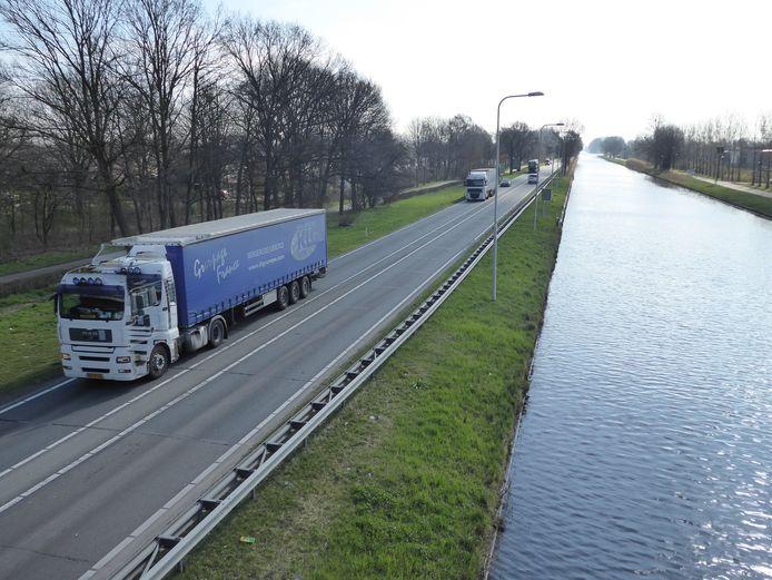 De N279 bij Veghel krijgt een nieuwe verbinding met industrieterrein Doornhoek.