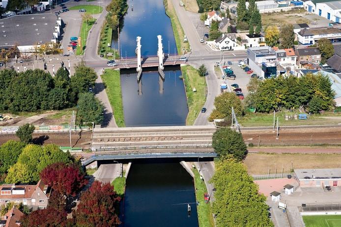 Wilhelminakanaal Tilburg.