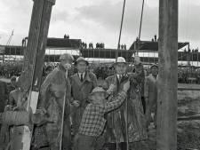Willem Drees sloeg in 1958 de eerste paal voor de Eindhovense universiteit. Wie was er nog meer bij?