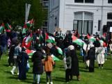 Enschedese moslims protesteren tegen geweld Israël