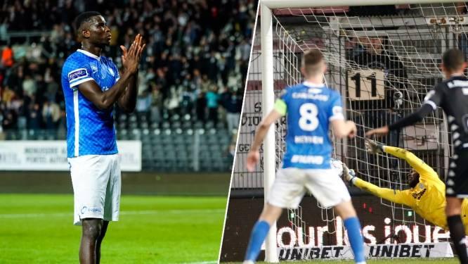 De dolle twee minuten in beeld: Onuachu laat twee penalty's liggen en vraagt aan ploegmaats of hij zich alleen mag gaan verontschuldigen bij fans