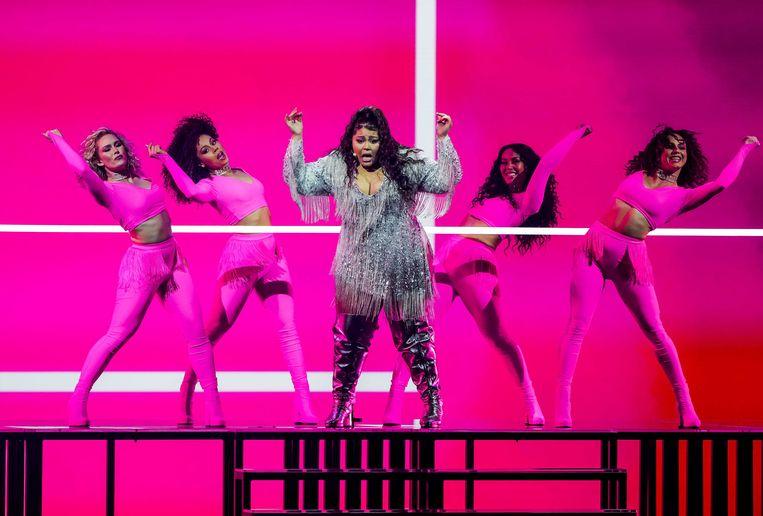 Destiny uit Malta met het nummer Je Me Casse, de zevende plek. Beeld ANP