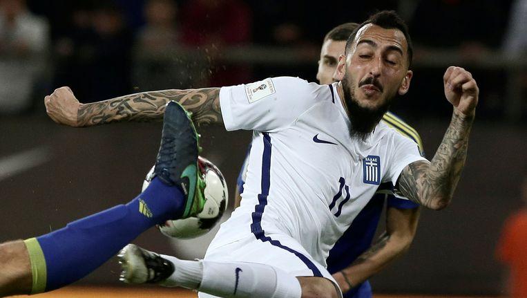 Griekenland en Bosnië delen de punten na een doelpunt diep in blessuretijd