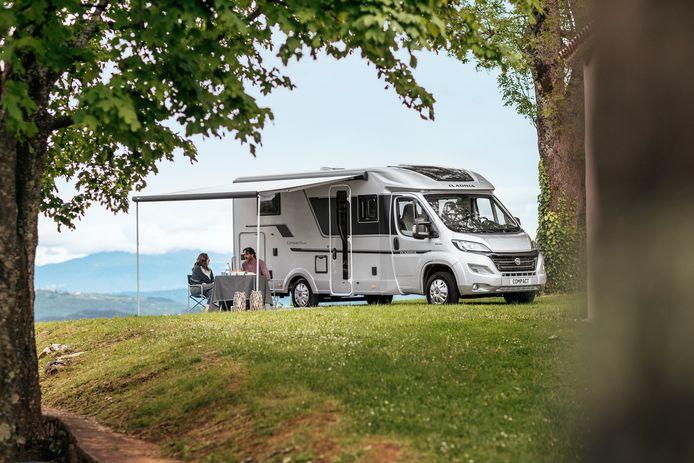 Campers en caravans zijn ongekend populair.