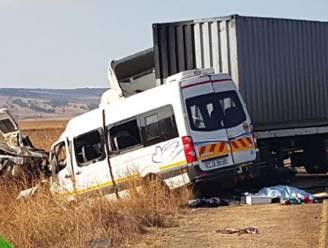 Achttien doden bij busongeval in Zuid-Afrika