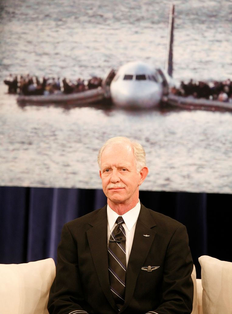 """Chesley """"Sully"""" Sullenberger."""