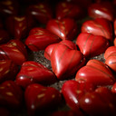 Valentijnschocolade van Calinor.