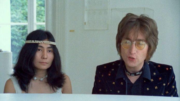 Yoko Ono en John Lennon