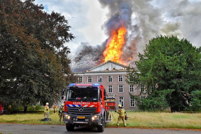 In augustus 2019 brandde een groot deel van Landgoed Haarendael af.