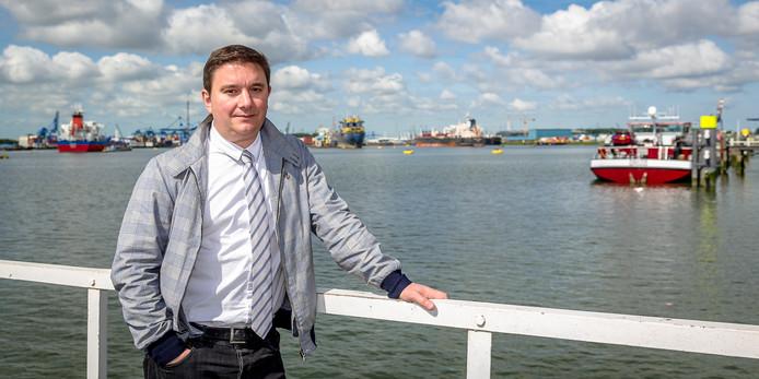 Stefano Peruzzi van het bedrijf WhaleWashing.