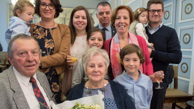 Lucas en Sonia vieren gouden huwelijk