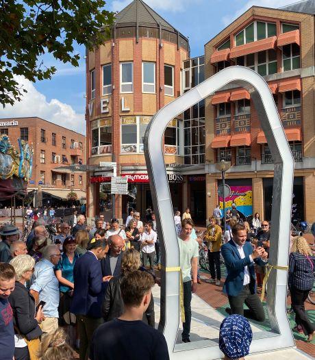 Poort naar geschiedenis Eindhoven staat op een kiertje op de Markt