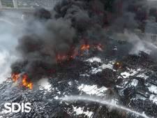 Inquiétudes à Rouen après l'incendie d'une usine chimique: la ville polluée