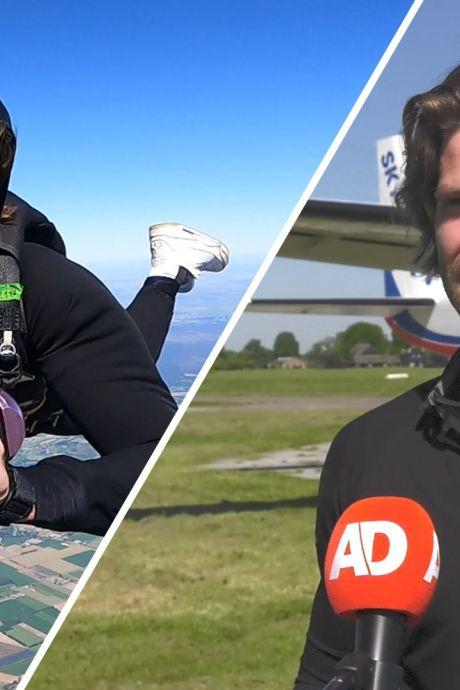 Thomas van StukTV lanceert eerste boek vanuit vliegtuig boven Teuge