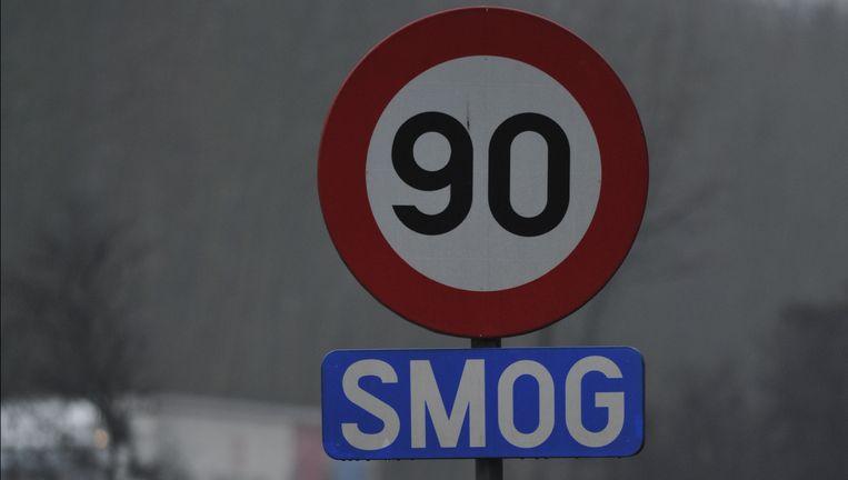 Negentig kilometer per uur wordt opnieuw twee dagen het maximum op de snelweg Beeld PHOTO_NEWS