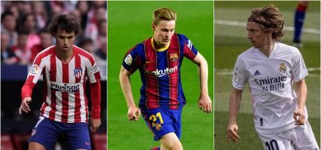 Ongekende titelstrijd in Spanje: dit is het programma van Atlético, Real, Barça en Sevilla
