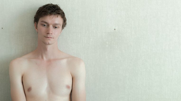 Tijmen Govaerts als Jonathan in 'Muidhond'. Beeld /