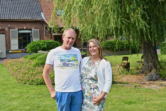 Kenneth Soete en Sharon Verscheure starten in juli met een nieuw avontuur in Gasthof Te Cathem in Wervik.
