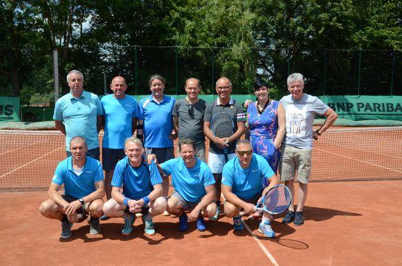 De heren-45 van TC Sint-Christoffel uit Pollare hebben het provinciaal kampioenschap gewonnen.