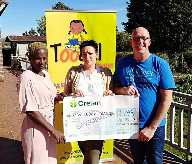 Tamara en Jurgen schenken een groot deel van hun campagnegeld aan een goed doel.