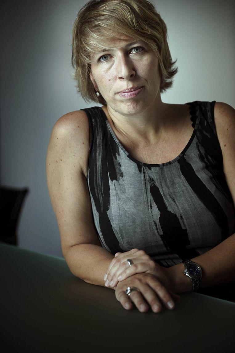 Caroline Gennez. Beeld Eric De Mildt