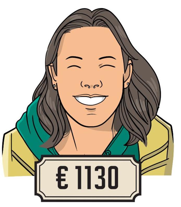 Anne (27) is vondstverwerker bij een archeologische opgraving.