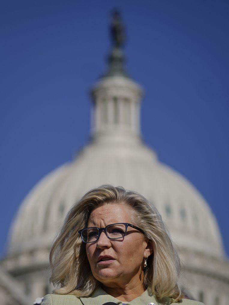 Liz Cheney. Beeld AFP
