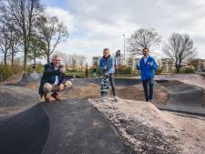 Aanleg van pumptrack in Rheden is begonnen
