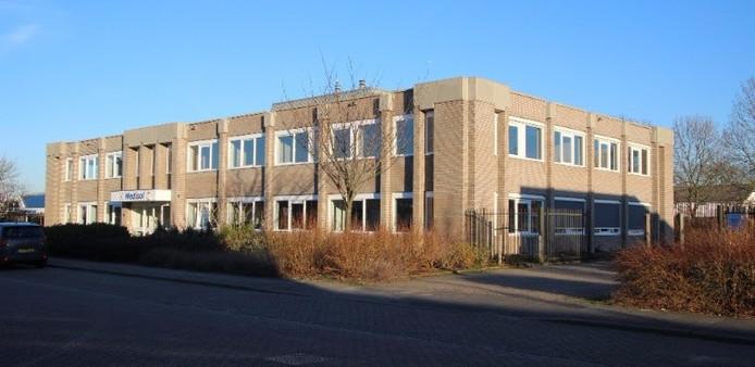 Het pand van Medisol BV aan de Mercuriusweg in Vlissingen.