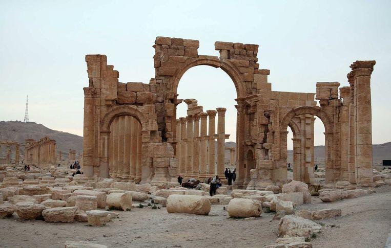 Palmyra in Syrië. Beeld reuters